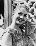1957 Movies Photo Metal Prints - April Love, Shirley Jones, 1957 Metal Print by Everett