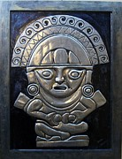 Metal Reliefs - Apu-Punchau by Cacaio Tavares
