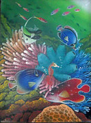 Balinese Art Crafts - Aqua 2
