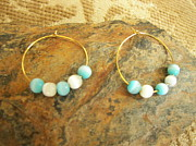 Ship Jewelry - Aqua Sea Glass by Dancing StarInc