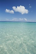 Culebra Photos - Aquamarine Water Bleeds Into Blue Skies by Michael Melford