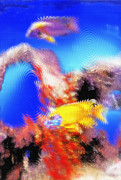 Aquarium Art 8 Print by Steve Ohlsen
