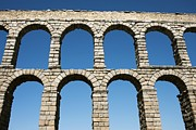 Granite Arches Framed Prints - Aqueduct Of Segovia, Spain Framed Print by Jeremy Walker