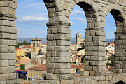 Castilla Prints - Aqueduct, Segovia, Spain Print by Jumper