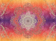 Graphic Digital Art - Arabesque Multi by Jannina Ortiz