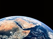 Arabia Framed Prints - Arabia And Africa Seen From Space, Apollo 17 Framed Print by Nasa