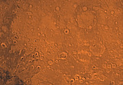 Craters Prints - Arabia Region Of Mars Print by Stocktrek Images