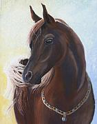 Racing Pastels - Arabian Prince by Heather Coen