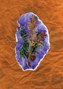 Needles Mixed Media - Arborvitae by Carrie Auwaerter