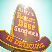 Mother Road Framed Prints - Arbys Framed Print by David Waldo