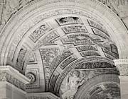 TONY GRIDER - Arc de Triomphe de Carrousel in Sepia