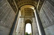 Arc De Triomphe Paris Print by Charuhas Images
