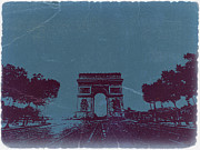 Parisian Streets Posters - Arc De Triumph Poster by Irina  March