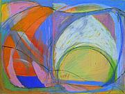 Circle Pastels Originals - Arc Drawing 16 by Ruth Sharton
