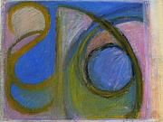 Circle Pastels Originals - Arc Drawing 7 by Ruth Sharton