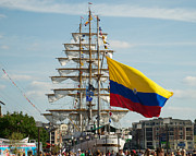 Tall Ships Photos - ARC Gloria 2 by Mark Dodd