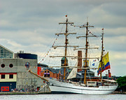Tall Ships Photos - ARC Gloria by Mark Dodd