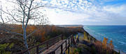 Traverse City Prints - Arcadia Overlook in Fall Print by Twenty Two North Photography