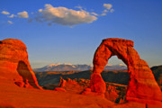 Delicate Arch Framed Prints - Arch Framed Print by Scott Mahon