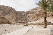 Ancient Ruins Prints - Archaelogical Site Of Qumran Print by Photostock-israel