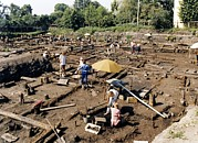 Archaeological Photos - Archaeological Site, Novgorod, Russia by Ria Novosti