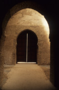 Rabat Prints - Arched Doorway Print by Carl Purcell