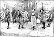 Archery Art - Archery, 1886 by Granger