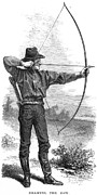 Archery Art - ARCHERY, 19th CENTURY by Granger