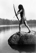 Nude Photo Prints - Archery: Nootka Indian Print by Granger