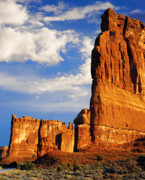 Slickrock Photo Prints - Arches National Park Utah Print by Utah Images