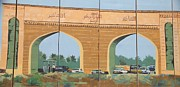 Iraq Conflict Prints - Arches of Basrah Print by Unknown