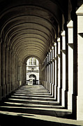 Shadow Metal Prints - Arches Of Grand Theatre Metal Print by Mickaël.G