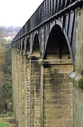 River Dee Prints - Arches Of The Pontcysyllte Aqueduct Print by Adrian Bicker