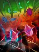 Abstract Composition Digital Art - Archetypes by Ann Croon