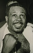 Boxer Photo Framed Prints - Archie Moore 1916-1998 Held The World Framed Print by Everett