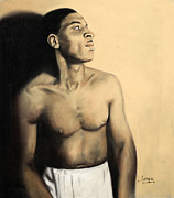 Black Man Pastels - Archie Savage by L Cooper