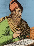 Volumes Posters - Archimedes, Ancient Greek Polymath Poster by Science Source