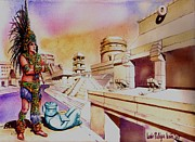 Architect's Dream Print by Luis  Leon