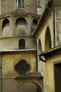 Hilltown Photos - Architectural Detail Of Italian by Todd Gipstein