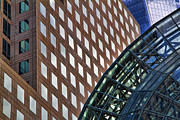 City Scene Photos - Architecture Building Patterns by David Smith