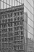Empire State Building Art - Architecture Reflections by Susan Candelario