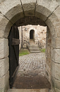 Entrance Door Photo Metal Prints - Archway - Entrance to historic town Metal Print by Matthias Hauser