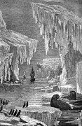 Doomed Prints - Arctic Exploration, 19th Century Print by