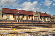 Depot Digital Art Prints - Ardmore Depot Print by Terry Hollensworth-Rutledge
