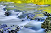 Water Flowing Photo Prints - Argen River Print by Silke Magino