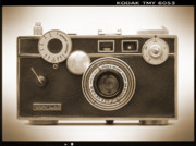 Rangefinder Metal Prints - Argus - Brick Metal Print by Mike McGlothlen