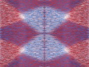 Argyle Digital Art Prints - Argyle Seam 1 Print by Tim Allen