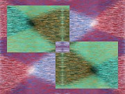 Argyle Digital Art Prints - Argyle Seam 2 Print by Tim Allen