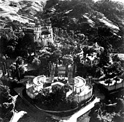 Arial View Of Hearst Castle, San Print by Everett
