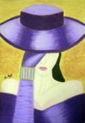 Glove Pastels - Aristocratic Lady 2 by Artist Mony